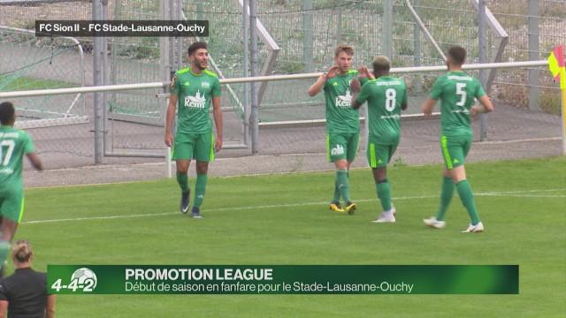 Début de saison en fanfare pour le Stade-Lausanne-Ouchy