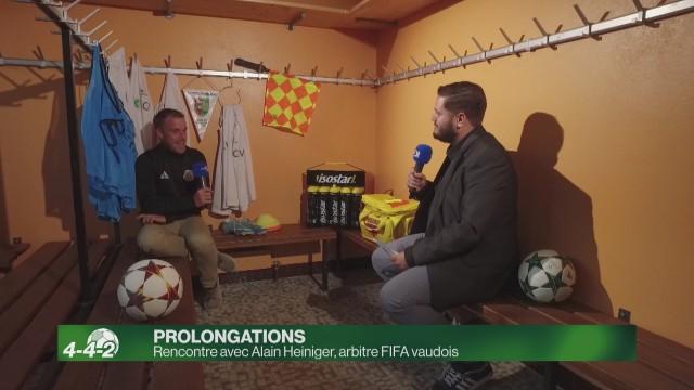 Rencontre avec Alain Heiniger, arbitre FIFA vaudois