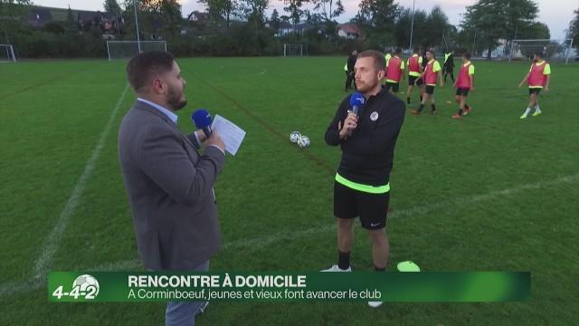 Corminboeuf, le club que jeunes et vieux font avancer