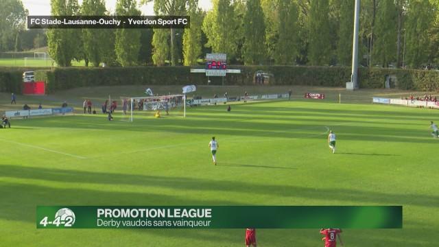 Derby vaudois sans vainqueur en Promotion League