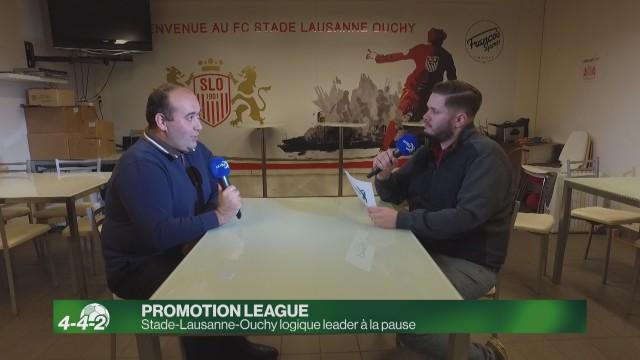 Stade-Lausanne-Ouchy logique leader à la pause