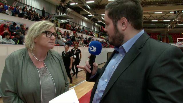 SBL Cup, demi-finale, Genève-Lugano, mi-temps