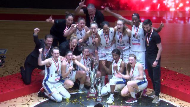 SBL Cup, finale féminine Elfic-Troistorrents, fin du match