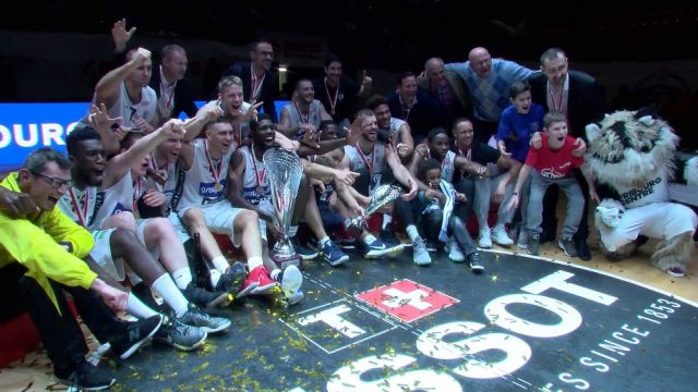 SBL CUP, FINALE FRIBOURG - LUGANO, FIN-MATCH