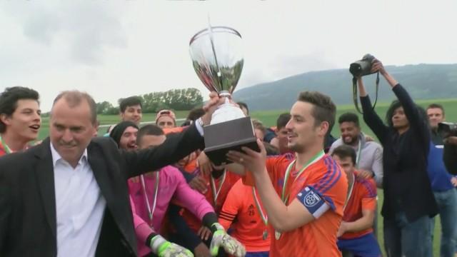 Finale de la Coupe vaudoise à Rances, la fin du match