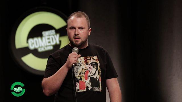 Faradj Vaziri au Swiss Comedy Club