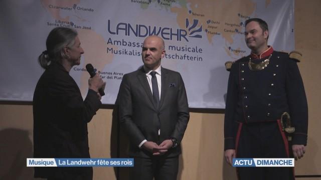Une soirée de surprises pour la Landwehr