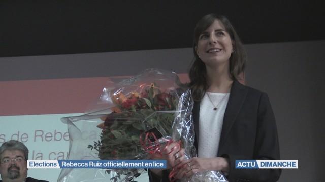 Rebecca Ruiz adoubée par le PS Vaud
