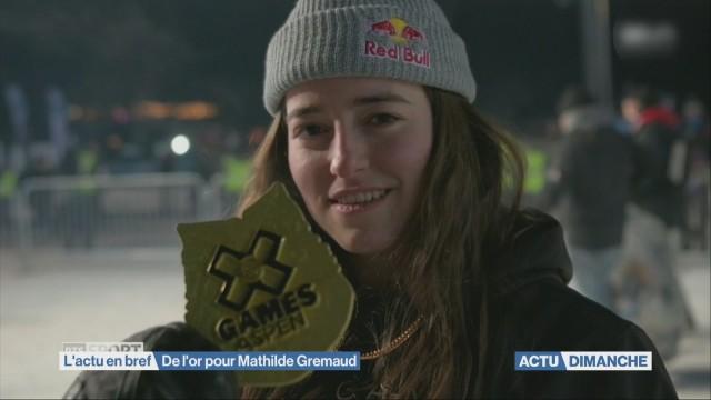 De l'or pour Mathilde Gremaud