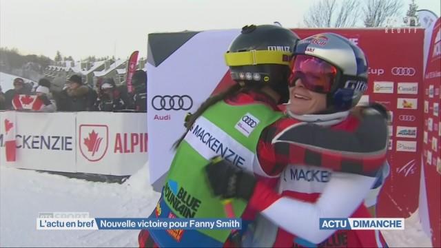 Nouvelle victoire pour Fanny Smith