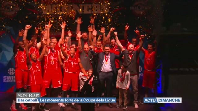 Basket:les moments forts de la Coupe de la Ligue