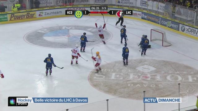 Lausanne fait un pas vers les play-off