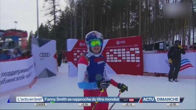 Fanny Smith se rapproche du titre mondial