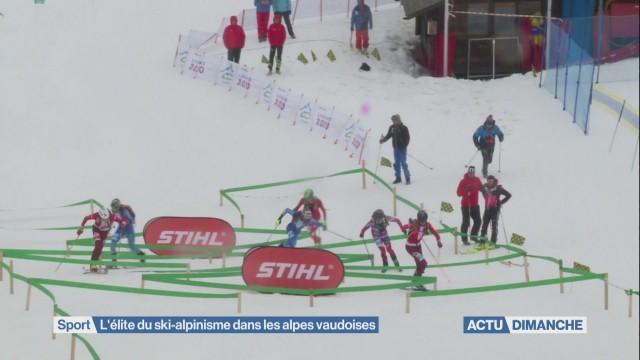 L'élite du ski-alpinisme dans les alpes vaudoises