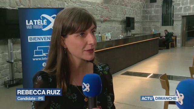 Élection complémentaire: Rebecca Ruiz en tête du 1er tour