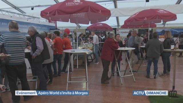 Première édition du Salon mondial de l'apéro à Morges