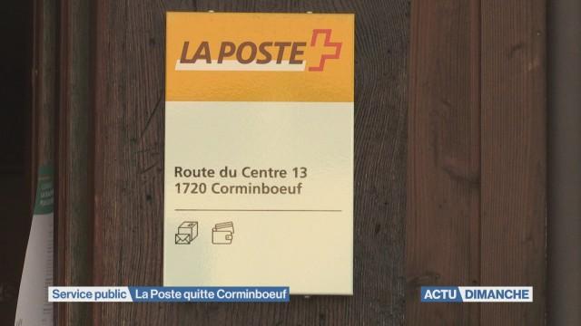 Plus de services postaux à Corminboeuf