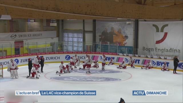 Le L4C vice-champion de Suisse