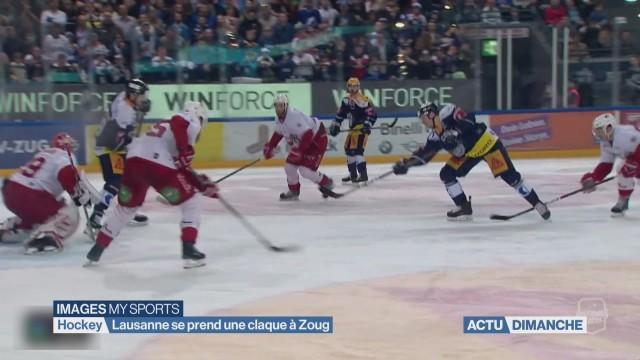 Lausanne se prend une claque à Zoug