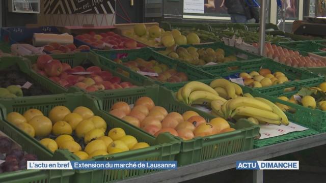 Le marché de Lausanne investit St-François