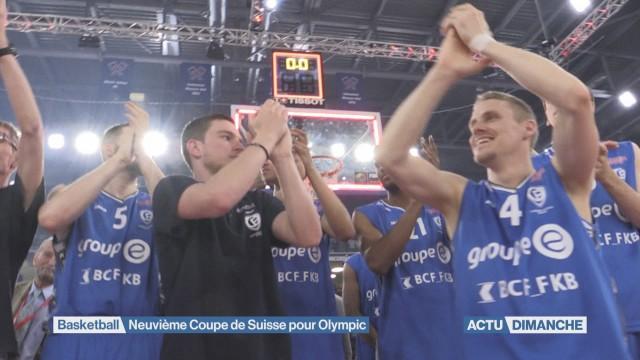 9ème Coupe de Suisse pour Fribourg Olympic
