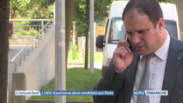 Deux candidats aux Etats pour l'UDC Vaud