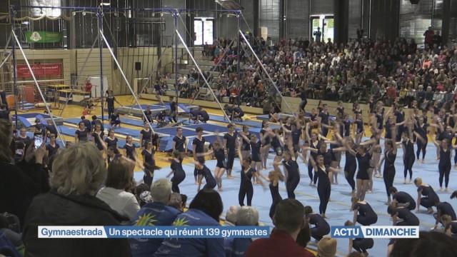 Un spectacle qui réunit 139 gymnastes