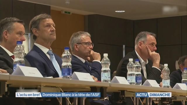 Dominique Blanc à la tête de l'ASF