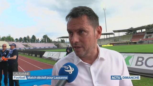 Défaite du Lausanne Sport