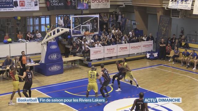 Fin de saison pour les Riviera Lakers