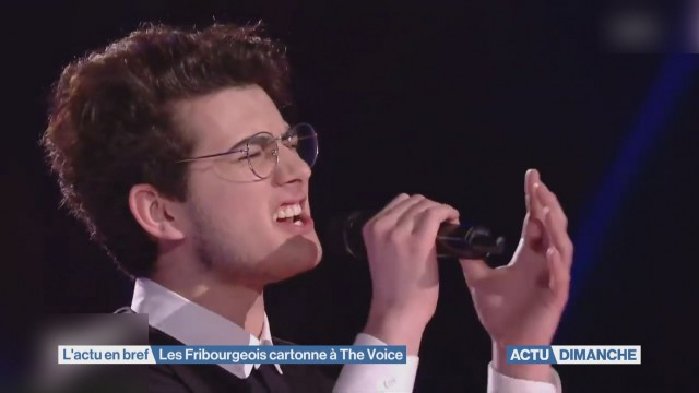 Les Fribourgeois cartonnent à The Voice