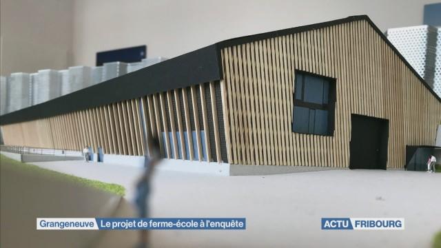Ferme-école de Grangeneuve à l'enquête