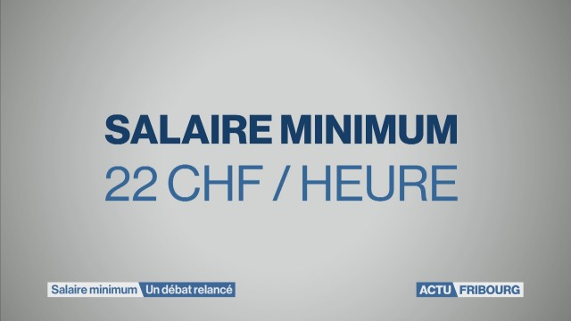 Salaire minimal: un débat relancé