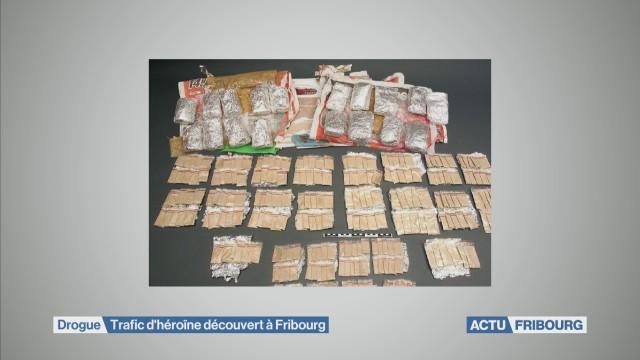 Trafic d'héroïne démantelé à Fribourg