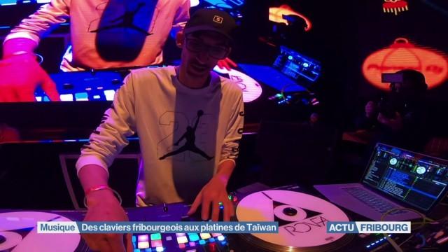 DJ Ronfa, des claviers fribourgeois aux platines de Taïwan