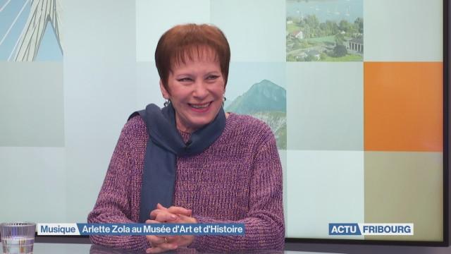 Arlette Zola immortelle