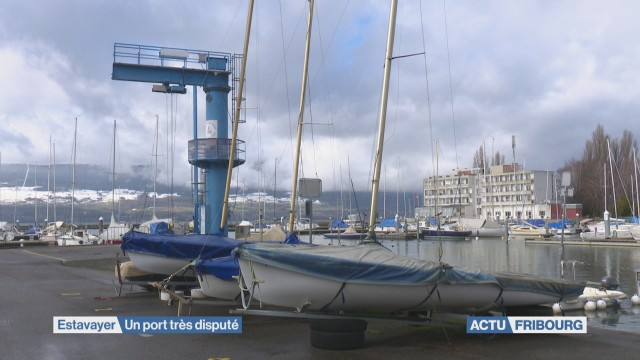 Bataille au port d'Estavayer