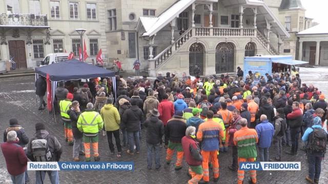 Grève en vue pour le personnel de la ville de Fribourg