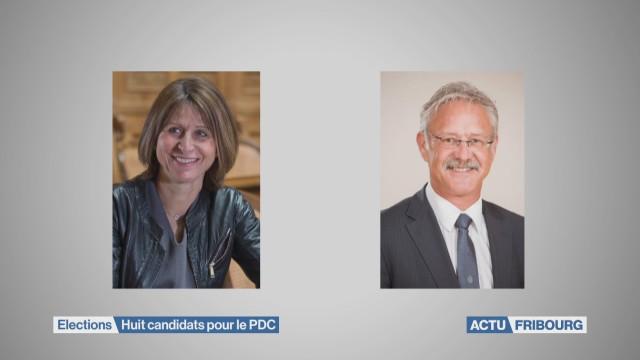 Huit candidats pour le PDC