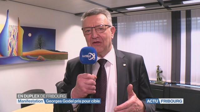 Georges Godel pris pour cible