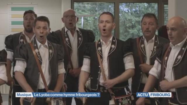 Le Lyoba comme hymne fribourgeois ?