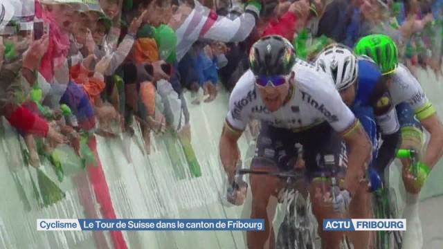 Tour de Suisse à Fribourg