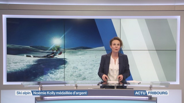 Noémie Kolly médaillée d'argent