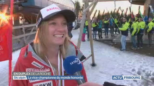 Noémie Kolly honorée