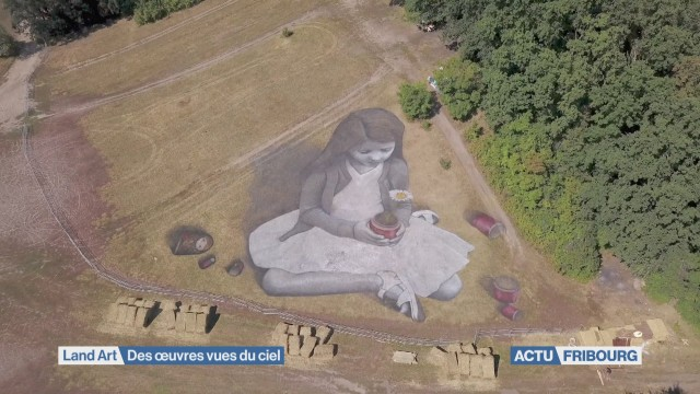 Land Art vu du ciel