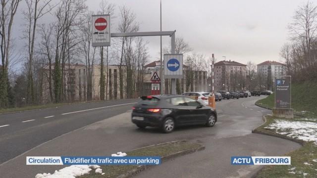 Un parking pour fluidifier le trafic