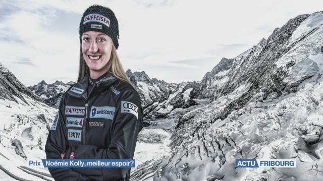 Noémie Kolly en lice pour le prix de l'Aide sportive