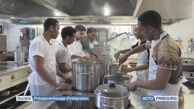 En cuisine pour l'intégration