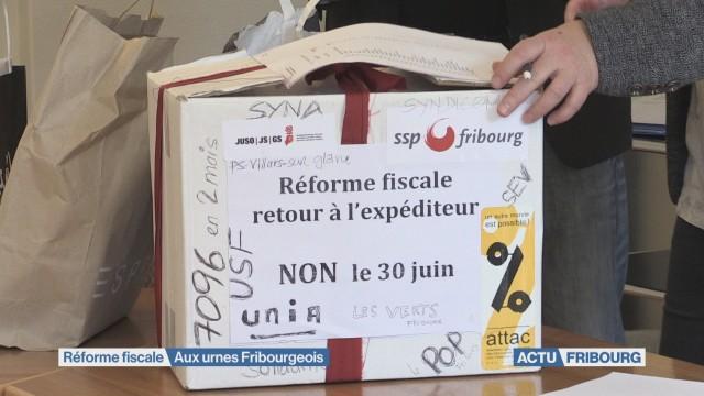 Les Fribourgeois voteront sur la réforme fiscale