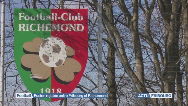 Fusion rejetée entre Fribourg et Richemond